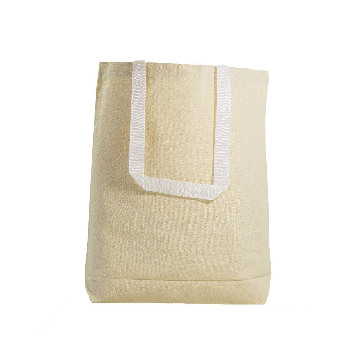 国内初の直営店 (Large, Royal) B01MSN8BVI - Multipurpose Cotton Canvas Tote ナチュラル Bags with Cotton White Handles (Small, Medium, Large) (Large, Royal) B01MSN8BVI ナチュラル L L ナチュラル, CLAMP:fc618f0b --- arianechie.dominiotemporario.com