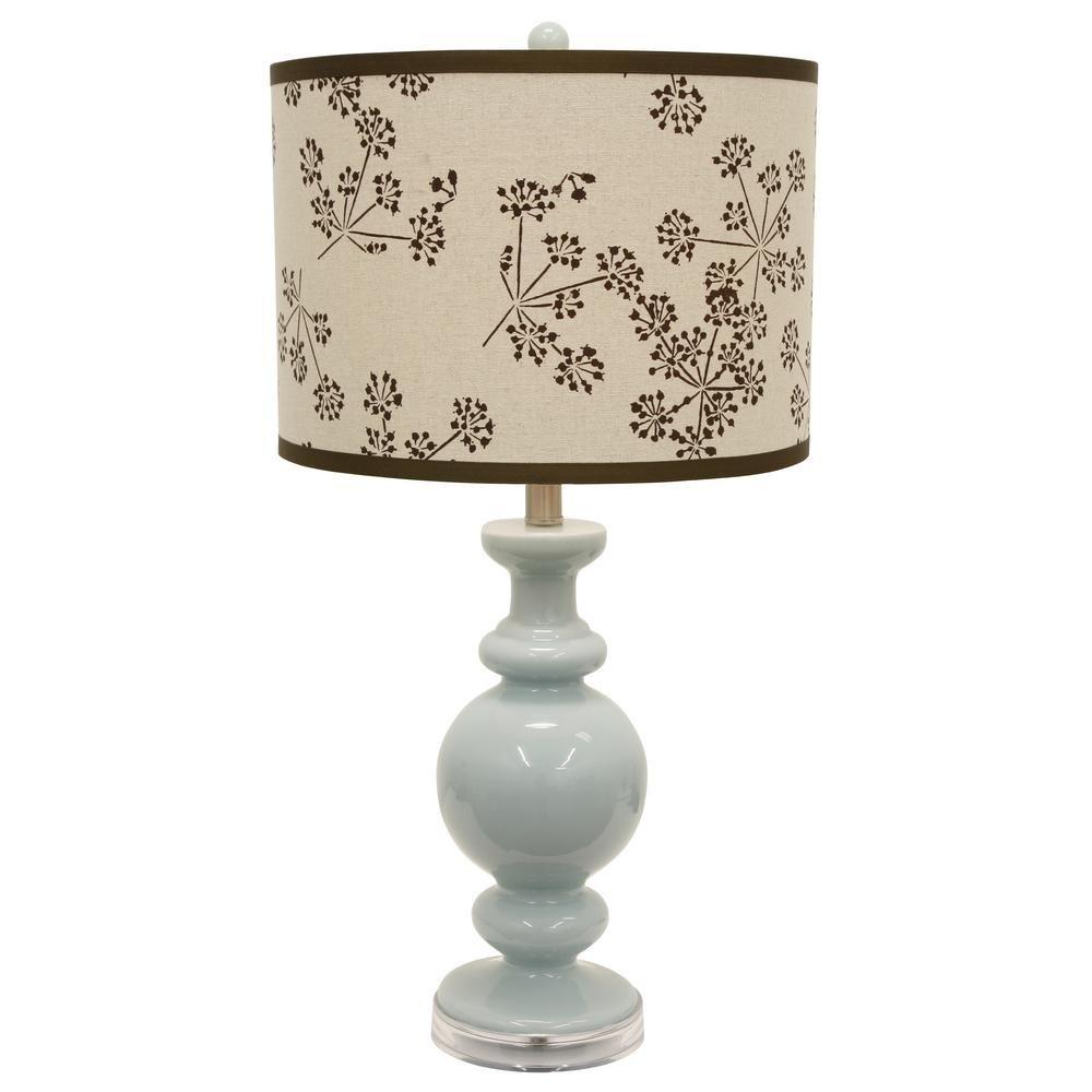 Décor Therapy TL16194 Table Lamp, Spa Blue
