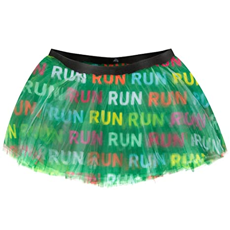 Runner's Printed Tutu Run Run Run