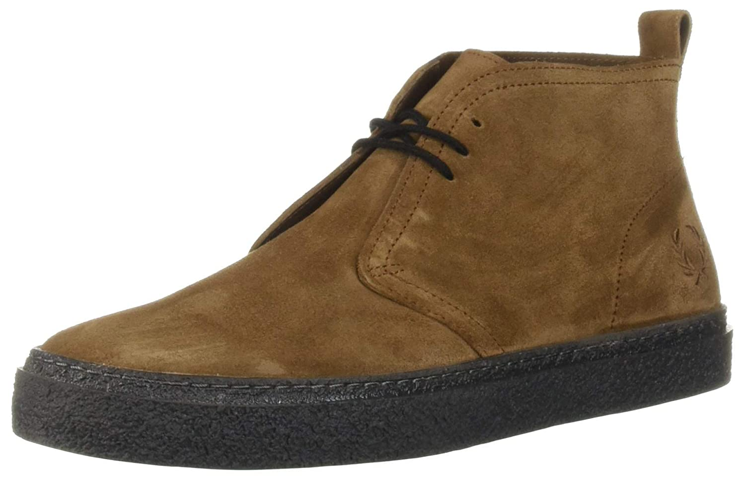 44a59d90835 Fred Perry Men's Hawley Suede Sneaker Tobacco 12 D UK (13 US)
