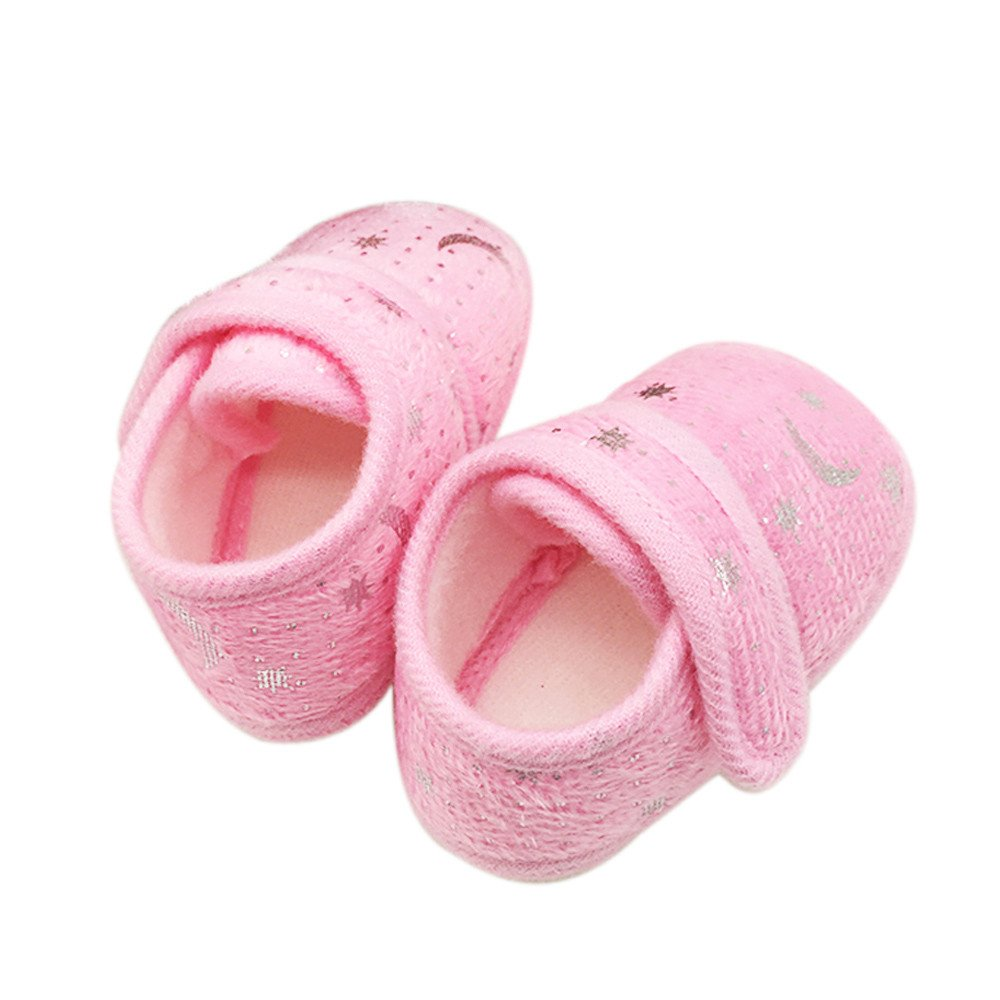 uBabamama Clearance!!! Fashion Design Starry Sky Printed Toddler Shoes Anti-Slip Soft Sole Baby Shoes