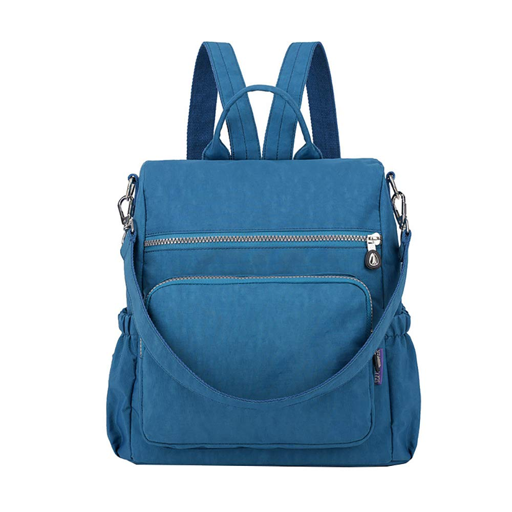Casual Nylon Ladies Backpack Multi-function Anti-theft Water-proof Backpack