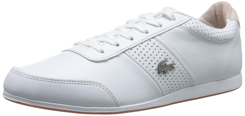 Lacoste Men's Embrun 116 2 Cam Fashion Sneaker Fashion Sneaker, White, 9.5 M US