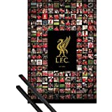Poster + Hanger: Football Poster (36x24 inches) Liverpool, Compilation And 1 Set Of Black 1art1® Poster Hangers