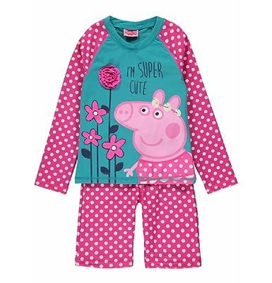 5d1195ba67a Peppa Pig Sun Safe Swimming Costume UPF 40+ (4-5 Years): Amazon.co ...