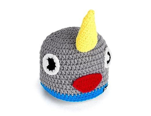 Amazon Ikiki Hand Knit Beanie Narwhal Baby