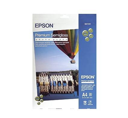 Epson Premium Semigloss Papel fotográfico s041332/DIN A4/251 g/m² ...
