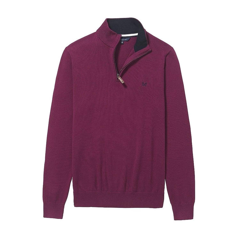 Crew Clothing Herren Pullover Classic 1/2 Zip