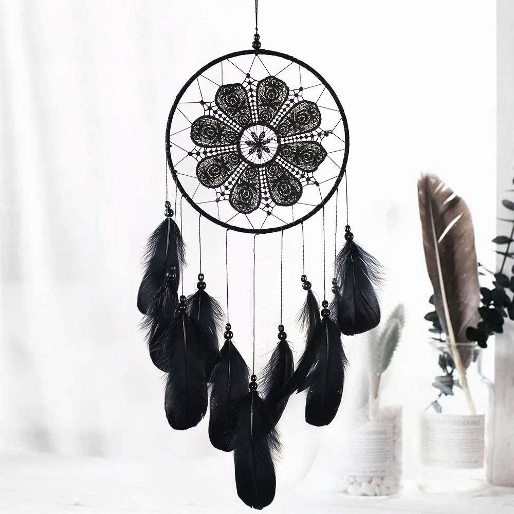 Dream Catcher The Tree of Life Handmade Traditional Feather Large Boho Chic Dream Catchers Kids Bedroom Living Room Wall Hanging Bohemian Ornament Craft Home Decor Dia 10 The Tree of Life