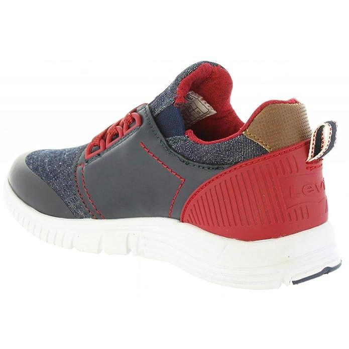 Chaussures de sport pour Garçon et Fille LEVIS VLAS0001S LAS VEGAS 0040 NAVY 34OfSo7