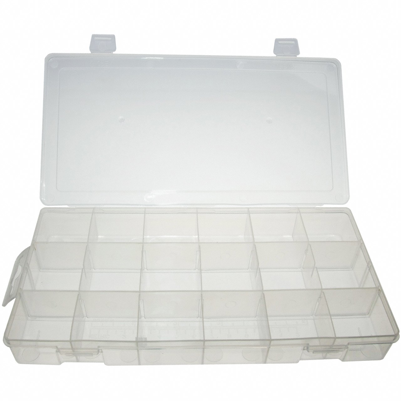 Universal Empty Storage Box / Assortment Box / Storage Container with 18 Compartments Alkan