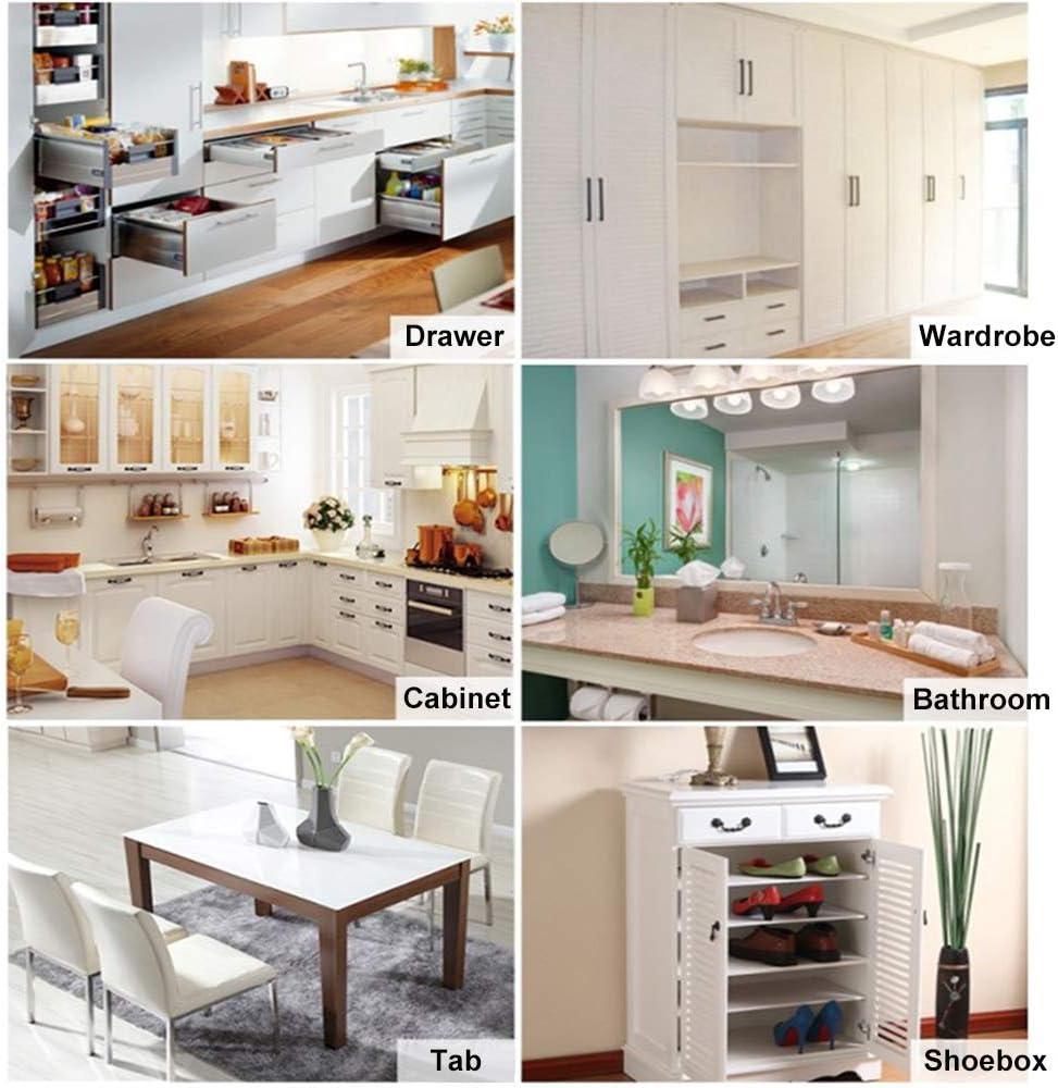 Uoging Schubladenmatte Küche Schrankpapier Antirutsch Matte, Wasserdicht  Antimehltau Antibakterielle Schubladeneinlage für Kühlschrank und Schublade