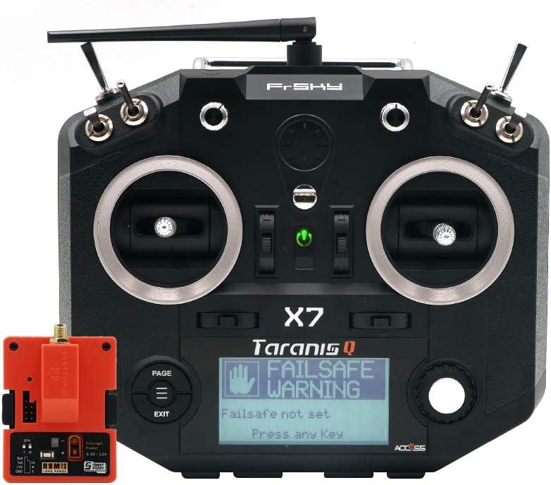 FrSky Taranis Q X7 Access 2.4GHz 24CH Mode2 Transmitter with R9M 2019 Long Range Module - Black