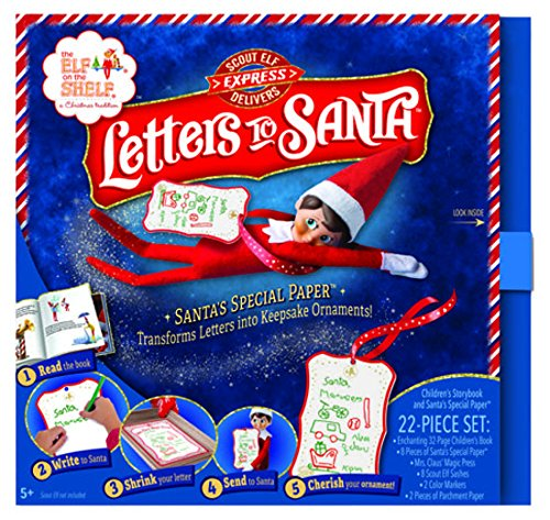 Elf on The Shelf Letters to Santa (Good Places To Put Elf On The Shelf)