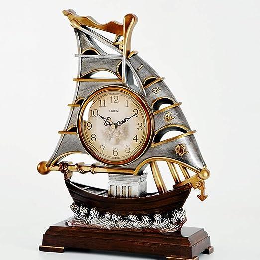 Relojes Que Se Sienta Creativo Retro De La Navegación Europea ...