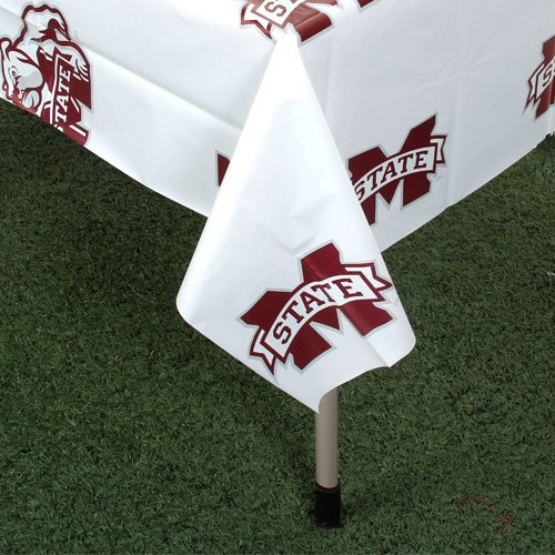 Rico NCAA Mississippi State Bulldogs Table Cover, 54-inches by - Bulldogs Mississippi Cover State