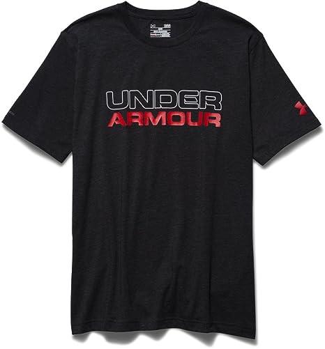 Amazon.com  Under Armour Men s Wordmark T-Shirt  Sports   Outdoors 737490112f95