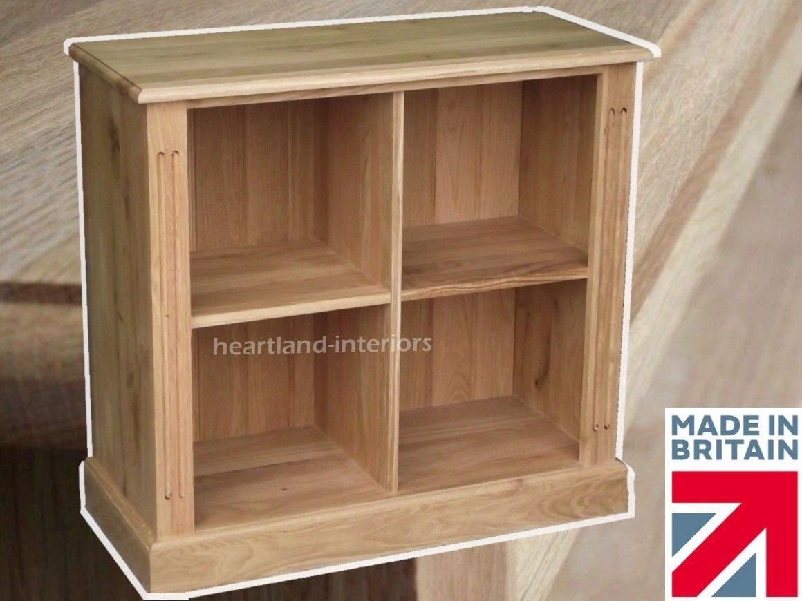 100% Solid Oak Bookcase, Record Display Unit, Handcrafted LP Vinyl Storage.  Heartland Oak Range, No Flat-Packs, No Assembly (BKOAK9): Amazon.co.uk:  Kitchen