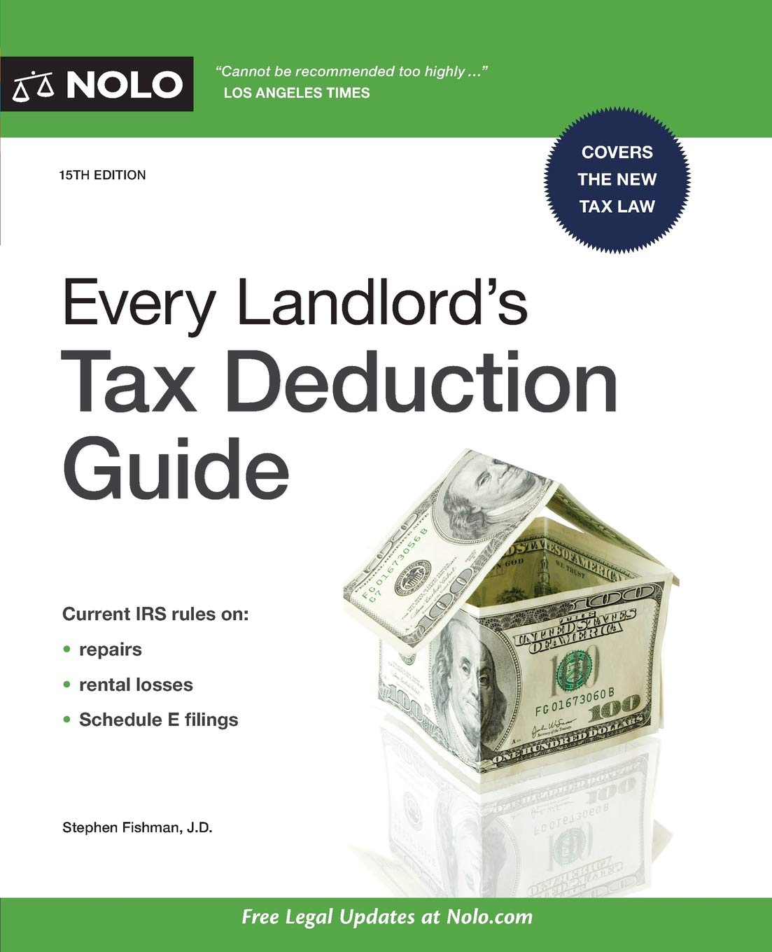 Every Landlord's Tax Deduction Guide by NOLO