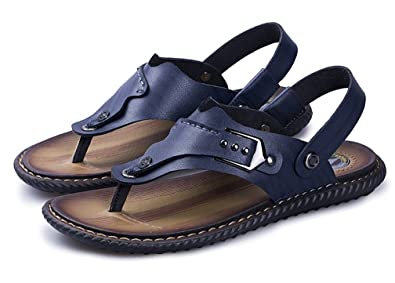 Respeedime Herren Peep-Toe, Yellow Sandal - Größe: 39