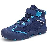 Zapatillas de Senderismo Niños Impermeable Transpirable Zapatos de Trekking Deportivas Aire Libre Gr.25-40