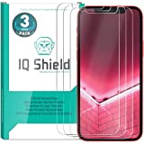 IQ Shield Glass Screen Protector Compatible with Apple iPhone 12 Pro Max (6.7 inch)(3-Pack) Clear Tempered Ballistic…