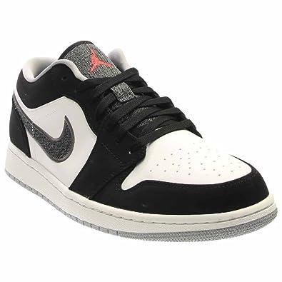 brand new 87d6b fba20 Jordan 1 Low Black/White/Wolf Grey/Infrared 23 553558-029 12