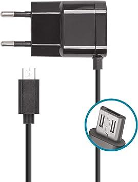 Forever Cargador USB con fuente de alimentación y cable de carga ...