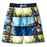 Marvel Avengers Age Of Ultron Big Boys' Swim Trunks Bathing Suit (L 12-14)