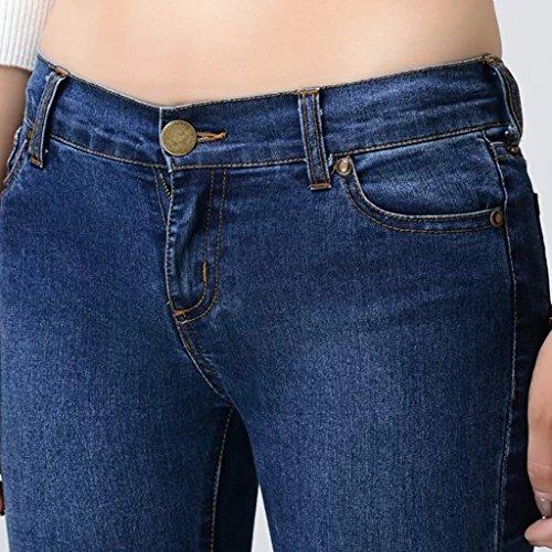 Blue dlav jeans mode de A Grand 26 Pantalon les Unis XS Blue Etats en la Brilliant fond L'Europe Pantalon cloche et firm Size Color a qz8nwU7