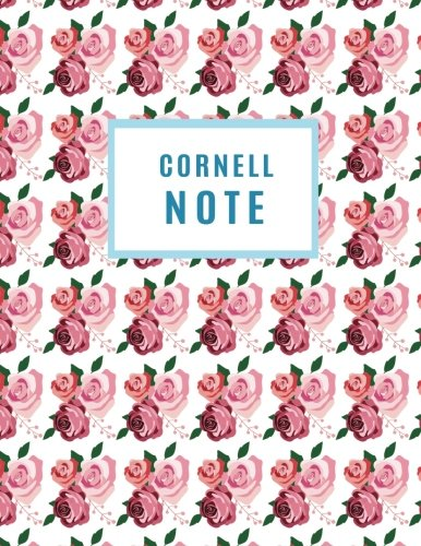 Cornell note: 120 pages, 8.5x11 of Taking System Notebook (Cornell Notebook)