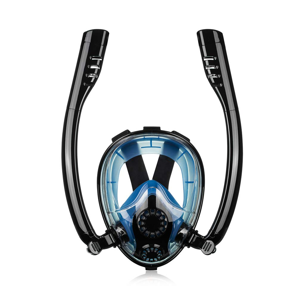 Full Face Mask Scuba Diving Swimming Underwater Snorkeling Set for Adult Kids US