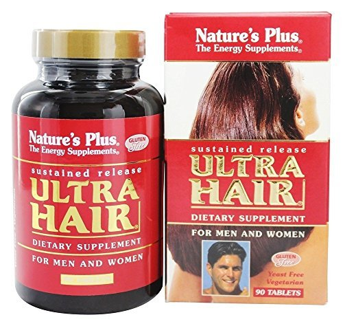 Ultra Hair, for Men and Women, 90 Tablets by Nature's Plus
