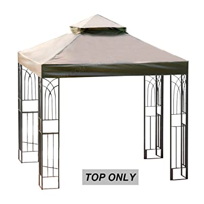 MasterCanopy Gazebo Replacement Canopy Top 8×8ft Replacement Canopy roof for Model L-GZ385PST: Garden & Outdoor