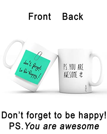 Amazon Com Gift Idea Mug Post It Best Valentine S Day Gifts For