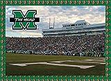 Marshall Thundering Herd 500 Piece Jigsaw Puzzle 16''x20 Size Football Stadium University of