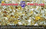 Gold Reflective – Fire Pit Fireplace Glass – 5 Lbs