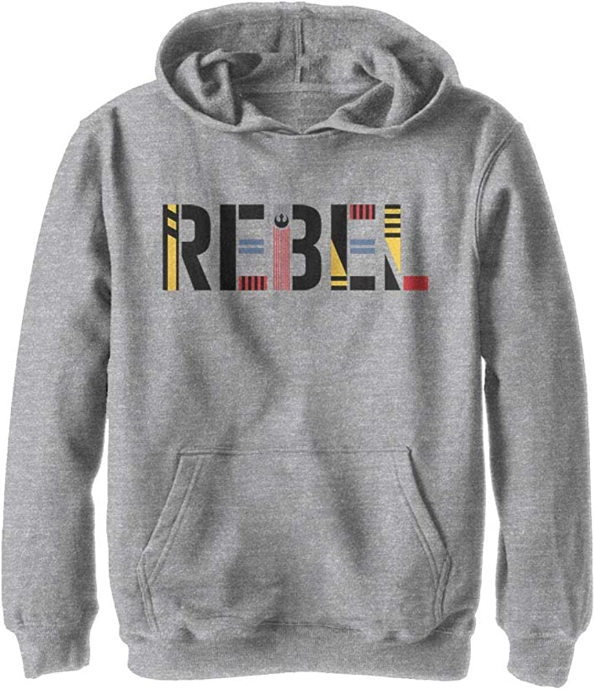 Star Wars Boys Youth Hooded Pullover Fleece