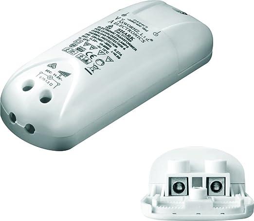 Halógenas de bajo voltaje-transformador 12 V transformador electrónico 10-60W tipo Shark/