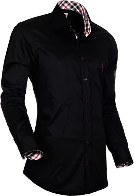 Sogno camicie Señor Camisa Barcelona SC de 1015 – 04 negro XL ...