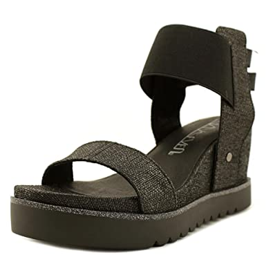 Sixty Seven Black Wedge Sandals nayet by (41 - Black) d5Iag2