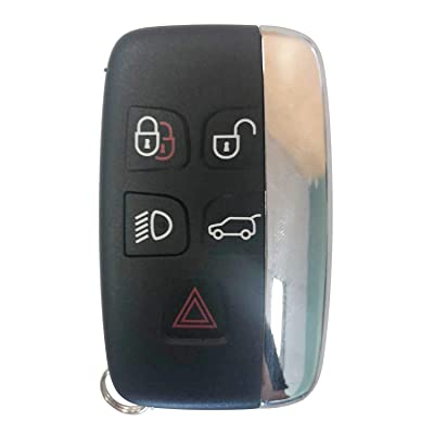 NEW Replacement for Land Rover 2012-2020 Range Rover Evoque Sport Remote Key Fob 5 Btn 315MHz FCCID:KOBJTF10A,by AUTOKEYMAX (SINGLE): Automotive