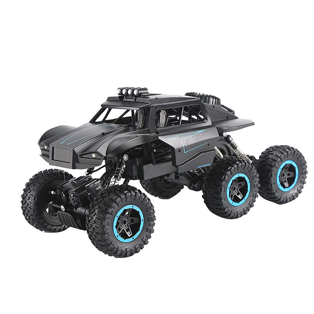 JJR/C Q51 MAX Six-Wheel Drive Off-Road Monster Truck, 1/12 2.4G 6WD High Speed Remote Control Climber Car RC Racing Vehicle Model