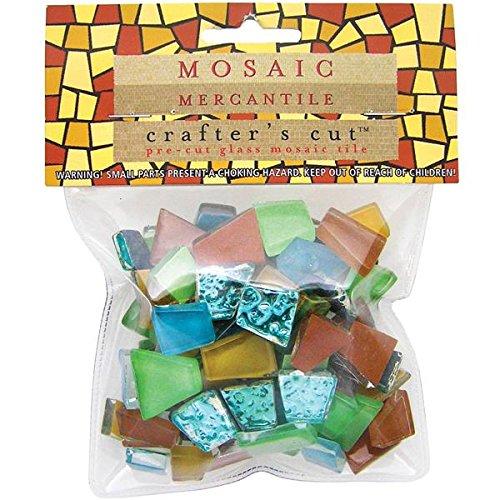 Mosaic Mercantile Safari Mosaic Tile, 1/2-Pound (Safari Tile)