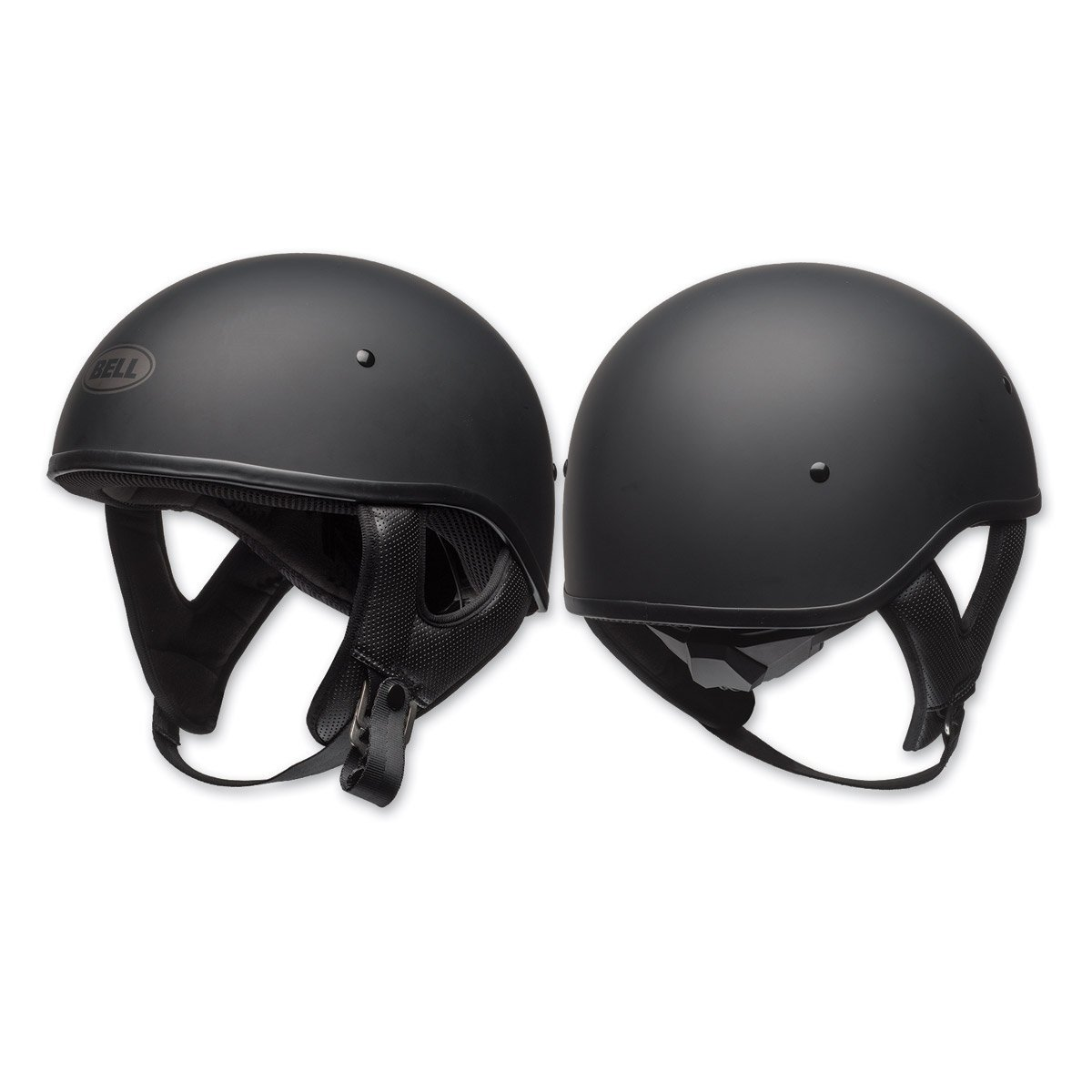 Bell Pit Boss Sport Open-Face Motorcycle Helmet (Solid Matte Black, X-Large/XX-Large)