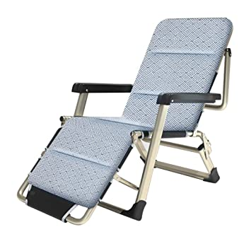 HHXD Tumbonas de jardín de metal, sillones reclinables ...