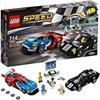 Lego - Speed Champions 2016 Ford Gt ve 1966 Ford Gt40 (75881)