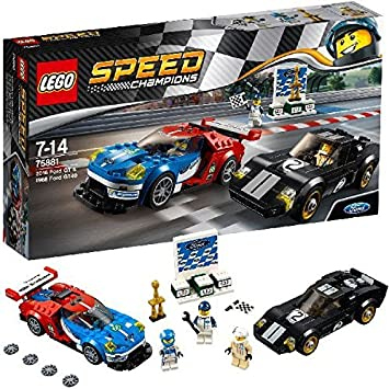 Lego Speed Champions 75881 2016 Ford GT & 1966 Ford GT40 Building ...