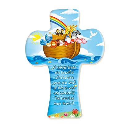 Amazon Com Wj Hirten Noah S Ark Cross Home Kitchen