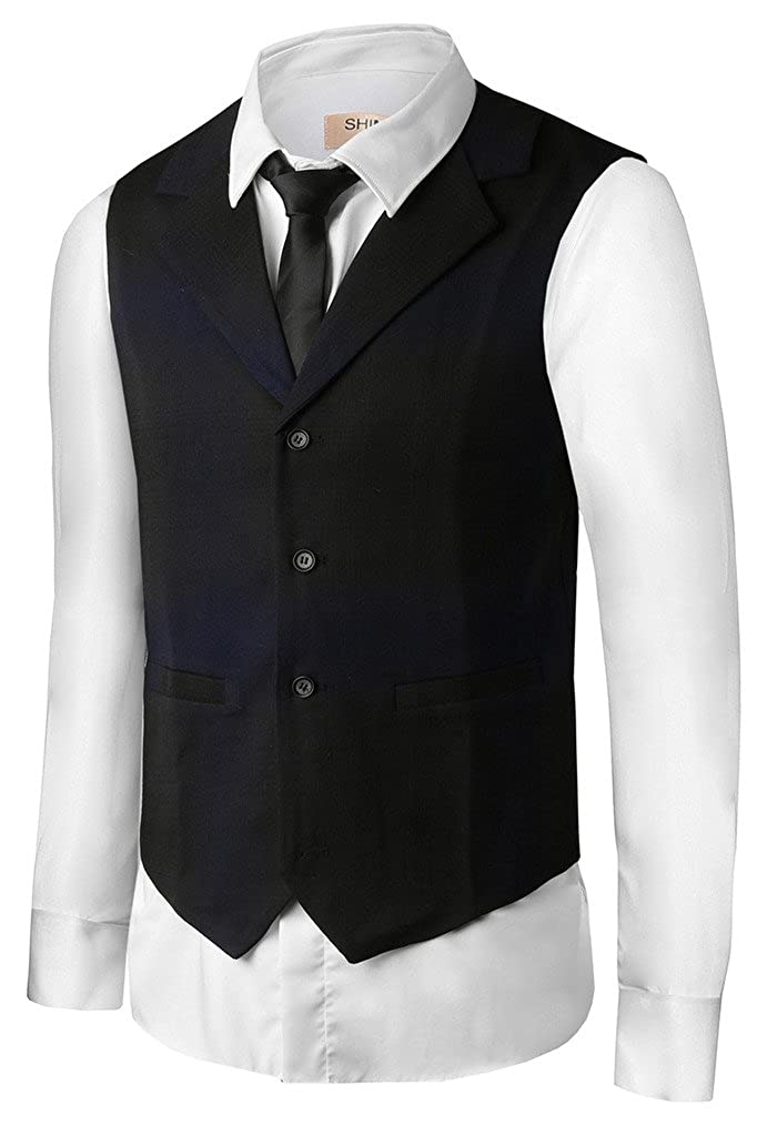 Hanayome Men 2017 New Products V-Neck Best Man Suit Tux Wedding Vests Waistcoat VS39 VS39-VS-B1